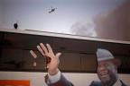 Wahlbus für Ouattara in der Elfenbeinküste