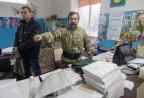 Im Wahlbüro von Mariupol