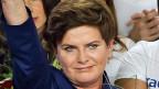 Beata Szydlo, Polens neue Premierministerin von der Partei «Recht und Gerechtigkeit».