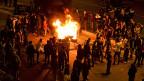 Bereits am Sonntag Abend gab es Proteste gegen die türkischen Wahlergebnisse.
