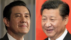 Erstmals treffen sich am Samstag die Präsidenten von Taiwan und China: Ma Ying-jeou und Xi Jinping.