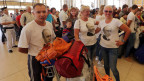 Russische Touristen am Flughafen Sharm el-Sheikh, Ägypten, warten am  6. November 2015 auf einen Rückflug.