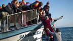 Täglich treffen hunderte Flüchtlinge auf der griechischen Insel Lesbos ein.
