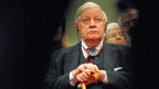 «Sein Tod markiert eine Zäsur für Deutschland und Europa. Schmidts intellektuelle Brillanz, analytische Schärfe, Gradlinigkeit und Prinzipientreue bleiben unvergleichlich», sagte EU-Parlamentspräsident Martin Schulz. Bild: Helmut Schmidt auf einem Bild von 2009.
