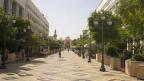 Keine Chance für die Jugend in der tunesischen Stadt Sfax – schöne Strassen, aber keine Aussicht auf Arbeit.