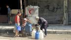 Lebensgefährlich bedroht - und das tagtäglich - sind die Menschen in Aleppo.