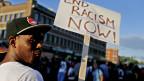 Demonstrationen gegen Rassismus im Universitätsbetrieb.