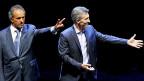 Dass die Argentinier um Worte nie verlegen sind – das zeigte sich auch beim TV-Duell: Daniel Scioli und Mauricio Macri.