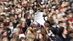 Auch Bildung ist ein zentrales Thema. Bild: Schüler demonstrieren in Bremen.