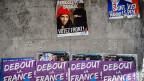 Die Regionalwahlen bewirken einen nachhaltigen Rutsch in Richtung rechts. Auf dem Tummelplatz des Front National gibt es aber keinen Platz für politische Alternativen. Bild: Wahlpropaganda des FN in Paris.