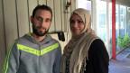 Neues Glück. Dieses Paar aus Syrien hat sich in Sumte gefunden. Und ist nun verlobt.