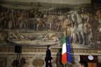 Italiens Renzi eröffnet die Libyen-Konferenz in Rom