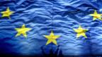 Eine Fahne der Europäischen Union.