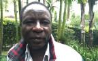 Joseph Kimilu vor der Einwohnerkontrolle in Nairobi