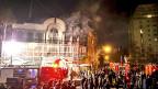 Die Proteste gegen die Hinrichtung eines schiitischen Geistlichen in Saudiarabien gipfelten am Sonntag in einem Brandanschlag auf die saudische Botschaft in der iranischen Hauptstadt Teheran.