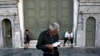 Der Eingriff ins teure griechische Rentensystem war schon in den vergangenen Jahren gross:  Vor der Krise lagen die Renten um 70 Prozent höher als jene, die ab diesem Jahr ausbezahlt werden.