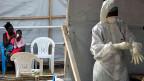Bei der grossen Zahl von 15'000 Überlebenden kann es gut sein, dass erneut Ebola-Fälle auftreten. Darum müssten Virenjäger und Ärzte auch künftig äusserst wachsam bleiben, sagt der Ebola-Experte von der WHO.