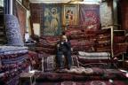 Teppichhändler im Teheraner Basar
