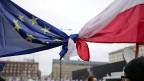 Zwei Polen, zwei Pole in der politischen Bandbreite: der polnische Präsident des EU-Rates und der nationalkonservative Präsident Polens.