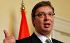Trotz medialer Aufregung und passiv-agressiven Tönen der Politiker haben die Verteidigungs-Experten in Serbien und in Kroatien nicht den Eindruck, dass die Kriegsgefahr wächst. Aus dem einfachen Grund, dass das Geld für ein echtes Aufrüsten fehlt. Bild: der serbische Premier Aleksander Vucic.