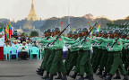 Die abgewählte Regierung und die Kader der burmesischen Armee machen sich selber äusserst grosszügige Abschiedsgeschenke.
