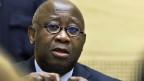 Laurent Gbagbo, der Ex-Präsident der Elfenbeinküste muss sich vor dem Internationalen Gerichtshof verantworten.