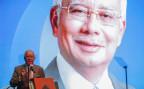 Der Ministerpräsident von Malaysia, Najib Razak bei der Vorstellung des Budgets 2016