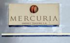 Das Firmenschild des Schweizer Rohstoffhändlers Mercuria