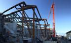 Die Baustelle des künftigen Nestle-Museums «The Nest» in Vevey