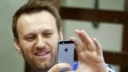 Der russische Dissident Alexej Nawalnj klagt die Mächtigen Moskaus an - und die Schweizer Justiz.
