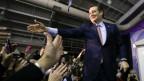 Der republikanische Kandidat Ted Cruz in Des Moines, Iowa.