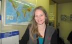 Katrin Santschi, 34, Betreuerin in der Flüchtlingsunterkunft in Hindelbank, BE
