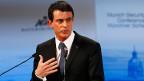 Frankreich zeigte sich an der Münchner Sicherheitskonferenz in Sachen Flüchtlingskrise alles andere als grosszügig. Der französische Premier Manuel Valls bei einer Rede in München.