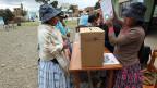 Fast 6,5 Millionen Bolivianerinnen und Bolivianer haben am Sonntag ihre Stimme für oder gegen das Referendum abgegeben.