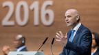 Der 45-Jährige Schweizer Gianni Infantino setzte sich im zweiten Wahlgang gegen seine drei verbliebenen Gegenkandidaten durch.