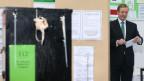 Der irische Ministerpräsident Enda Kenny bei der Stimmabgabe.
