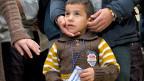 Die ersten Flüchtlinge der privaten Initiative «Humanitäre Korridore» sind am Montag von Beirut nach Rom geflogen worden.