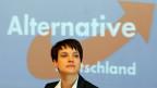 AfD-Chefin Frauke Petry an einer Parteiveranstaltung ihrer Partei in Sachsen.