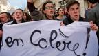 In ganz Frankreich sind die Menschen zu Protesten auf die Strasse gegangen, gegen die geplante Reform des Arbeitsrechts.