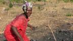 Rund um das Dorf Gama Makani soll eine Grossplantage entstehen. Mama Mathilda schimpft: «Ich will dieses Land nicht verlassen. Jetzt will mich eine schwedische Firma wegschicken. Wohin soll ich gehen? Etwa nach Schweden?»