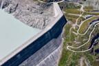 Staudamm der Grande-Dixence im Wallis