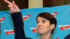 Mit dem Wahlsieg der «Alternative für Deutschland»  zieht erstmals seit 1945 eine ernstzunehmende Partei des rechten Parteienspektrums in drei Landtagen ein. Bild:; AfD-Präsidentin Frauke Petry.