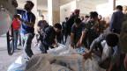 Die UNO verteilt in Syrien Lebensmittel (Archivbild 2014).