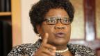 «Simbabwe braucht dringend einen politischen, wirtschaftlichen und sozialen Neubeginn. Wir leben in einem Land voller Ungerechtigkeiten. Ein normales Leben zu führen ist praktisch nicht mehr möglich. Simbabwe ist heute ein gescheiterter Staat», sagt Joice Mujuru.