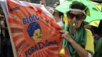 Die Lage in Brasilien gleiche dem Ausbruch eines Vulkans.