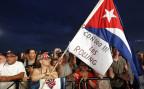 kubanische Stones-Fans warten auf den Auftritt in Havanna, Kuba