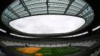 Das Stade de France in Saint-Denis bei Paris. Das Freundschaftsspiel Frankreich-Russland als Härtetest für die Polizei.
