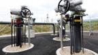 Die Erdgasanlage in Trelex-Colovrex bei Genf.