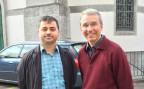 Pfarrer Ruedi Beck bietet den Muslimen Basel Gastrecht im Pfarreizentrum an.