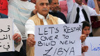 Ein Land im Chaos sucht den Notausgang: Den Weg dorthin weisen moderate Islamisten. Doch bewegen müssen sich alle. Ein Unterstützer der Einheitsregierung in Tripolis.